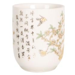 Porcelanowe Czarki w Stylu Japońskim M