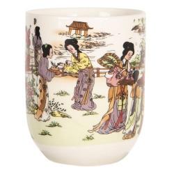 Porcelanowe Czarki w Stylu Japońskim R