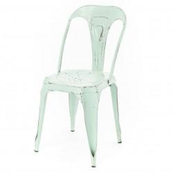 Krzesło Loft Metalowe Zielone
