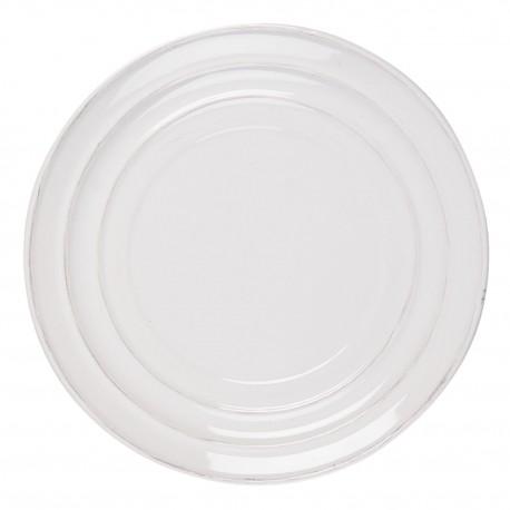 Ceramiczny Talerz Kremowa Biel