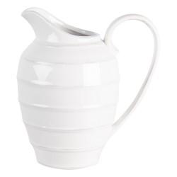 Ceramiczny Dzbanek Kremowa Biel