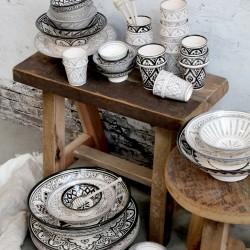 Drewniany Stołek Chic Antique Grimaud A
