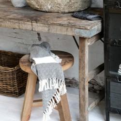 Drewniany Stołek Chic Antique Grimaud C