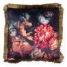 Poduszka w Kwiaty z Frędzelkami B