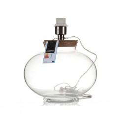 Szklana Lampa Stołowa Aluro Amoe