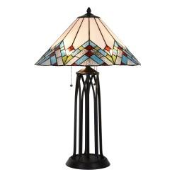 Lampa Tiffany Stołowa B Clayre & Eef