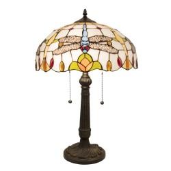 Lampa Tiffany Stołowa L Clayre & Eef