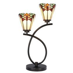 Lampa Tiffany Stołowa M Clayre & Eef