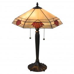 Lampa Tiffany Stołowa N Clayre & Eef