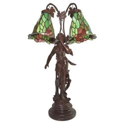 Lampa Stołowa Tiffany Ozdobna B Clayre & Eef