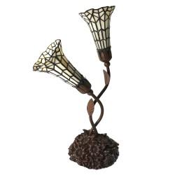 Lampa Stołowa Tiffany Ozdobna C Clayre & Eef