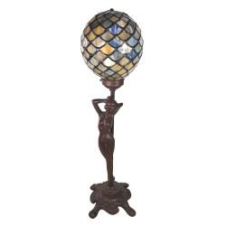 Lampa Stołowa Tiffany Ozdobna E Clayre & Eef