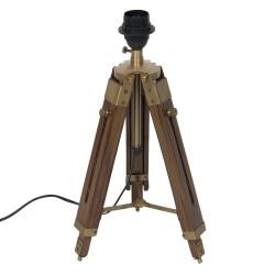 Table lamp tripod