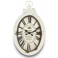 Zegar w Stylu Prowansalskim Owalny