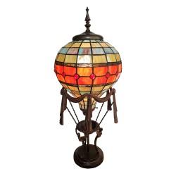 Lampa Stołowa Tiffany Ozdobna Balon