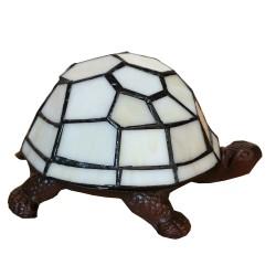 Lampa Stołowa Tiffany Ozdobna Żółw A Clayre & Eef