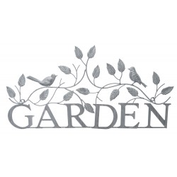 Dekoracja Ścienna Metalowa Garden