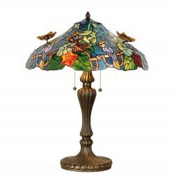 Stojąca Lampa Tiffany Duża E Clayre & Eef