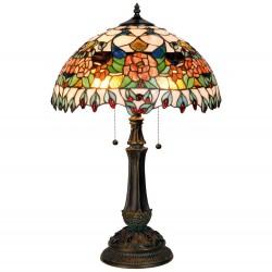 Stojąca Lampa Tiffany Duża H Clayre & Eef