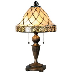 Stojąca Lampa Tiffany Duża K Clayre & Eef