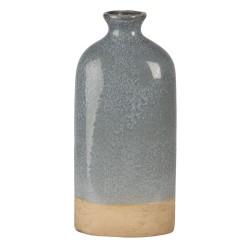 Ceramiczny Wazon Ozdobny Szaroniebieski S Clayre & Eef