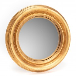 Złote Lustro Okrągłe A
